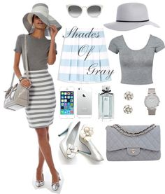 Fashion.Mama.Aquarius.: Shades of Gray & Pastel Blue