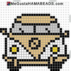 megustahamabeads furgo dorada y blanca