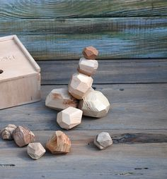 Wooden Toys – Tumi ishi, Wooden stones, Wooden Blocks – a unique product by Bogarne on DaWanda Wooden Art, Wooden Toys, Different Types Of Wood, Clay Design, Montessori Toys, Tumi, Wooden Blocks, Educational Toys, Homemade Gifts