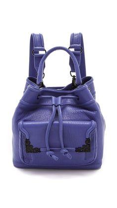 McQ - Alexander McQueen 皮革圆筒包