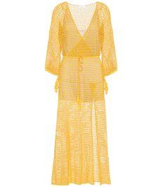 ANNA KOSTUROVA STEVIE COTTON MAXI DRESS. #annakosturova #cloth