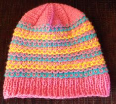 Margaret's Hat - super cute - size preemie to adult