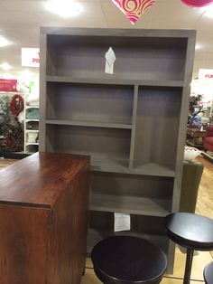Love this bookcase from Homegoods.