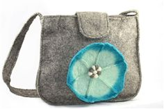 STORE-WIDE CLEARANCE! Now $17.97! HANDMADE ARTISAN FELTED WOOL messenger bags * 10% of all sales go to charity.