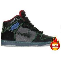 sneakers for cheap 8f285 58f21 Mens Nike Dunk SB High Premium (Twin Peaks) Exclusive Sneakers, Nike Sb  Dunks