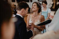 Ring exchange at wedding Wedding Moments, Destination Wedding, Weddings, Ring, Wedding Dresses, Second Life, Civil Ceremony, Church Weddings, Faith