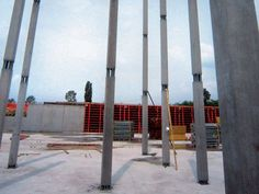 Mixed steel-concrete beam and column Column PTC® NPS® 25 x 25 cm by Tecnostrutture