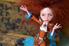 OOAK Monster High doll Draculaura with custom by Fenekdolls, $199.00