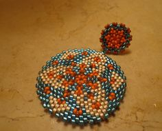 Earrings Sea and Sand by PatriziaBijoux on Etsy