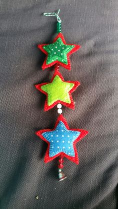 Christmas star mobile