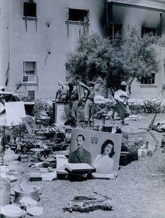 هذه ممتلكات العائلة المالكة العراقية التي يحصيها الإنقلابيين بعد مجزرة قصر الرحاب 1958