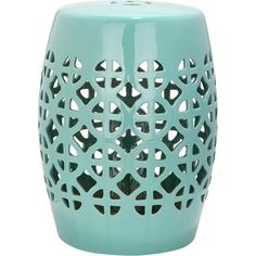 Whether positioned amongst a blooming flower bed or used to prop open the living room door, this perforated stool is the perfect addition to your home or gar...