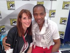@jaugustrichards  Signing right now with @afoley24 for #cdgcomiccon!!! AA02 Autograph Hall... #SDCC