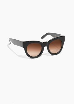 6c90a974a7a Other Stories Chunky Frame Sunglasses in Black Fall Accessories