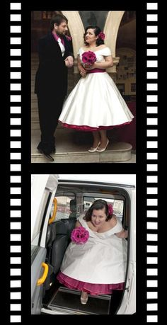 50s/60s inspired bridal, ballgowns with petticoats, bridesmaids, prom and evening dresses by British designer Candy Anthony, London UK