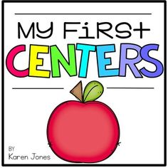 This is the perfect resource to get centers up and running in your Kindergarten classroom!