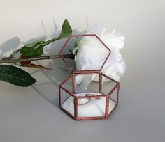 Szkatułka na obrączki - GlassWoodMe - Poduszeczki na obrączki