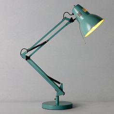 Buy John Lewis Elliot Task Lamp, Winchester Grey online at JohnLewis.com - John Lewis