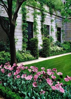 The courtyard of the Frick, New York.