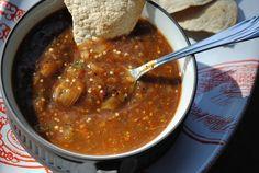 Salsa Taquera | & | Look here for Several Hot Sauces Recipes + Taquera too ---> http://pinaenlacocina.com/2014/01/26/habanero-hot-sauce/