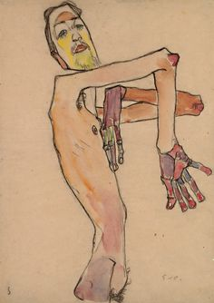 Nude with Crossed Arms, 1910.