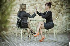 Bas couture Swing-Time Cervin Paris & bas couture Tentation