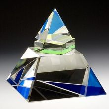 Blue Pyramid by Pavel Novak
