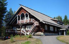 traditional karelia - Google-haku Cabin, Traditional, House Styles, Houses, Google, Home Decor, Homes, Decoration Home, Room Decor