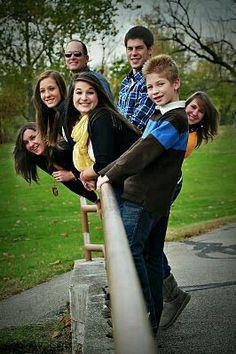 Leuke manier van familiefoto