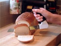 Easi-grip bread knife - Food preparation : Ability Superstore