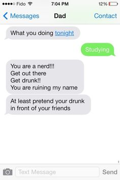 This dad who still cares about his rep… | 29 Parents Who Are Clearly Way Better At Texting Than Their Kids