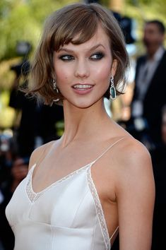Model Karlie Kloss attends the 'The Immigrant' premiere during The 66th Annual Cannes Film Festival at the Palais des Festivals on May 24, 2013 in Cannes, France.