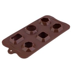 5 Packs ,DIY Silicone 3D Gem Diamond Ice Tray Fondant Mould Cake Chocolate Mold Image 4 of 5