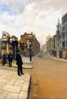The Athenaeum - NITTIS, Giuseppe de Italian (1846-1884)_La domenica a Londra - 1878