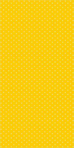 Vinyl wallpaper. Self-adhesive hearts on yellow SARA by Yaelyaniv