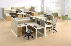 Accelerate™ workstations by HON #office #design #desk