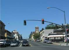 Vallejo, CA first building on the left was where our first place was! Lol