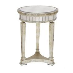 Borghese Mirrored End Table from Z Gallerie - want to add to my master bedroom retreat
