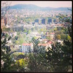 Utsikt mot Gamlebyen fra Ekeberg