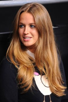 kim sears voted best hair at 2013 wimbledon grazia beauty