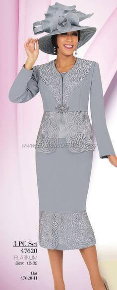 GMI G6012 Silver - Womens Church Suits | suit | Pinterest | Suits ...