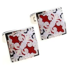 Fleur di Lis Cufflinks in Red by Cuff-Daddy Cuff-Daddy. $39.99. Made by Cuff-Daddy. Arrives in hard-sided, presentation box suitable for gifting.