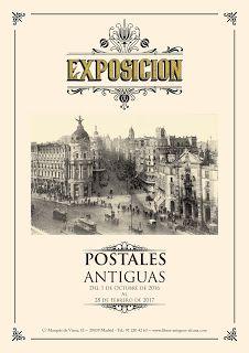 Exposición de postales antiguas en la Librería Alcaná   http://uniliberlibrosycoleccionismo.blogspot.com.es/2016/10/exposicion-de-postales-antiguas-en-la.html