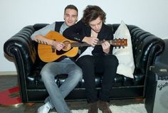 Harry Styles and Liam Payne. How much more perfection do you need? Oh wait, where are the rest of the boys?!