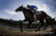 Game On Dude wins the Hollywood Gold Cup