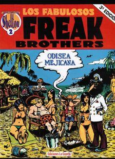 'The Fabulous Furry Freak Brothers' Gilbert Shelton