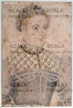 MARY QUEEN OF SCOTS. Provenance: Scala archives. School of Francois Clouet, Chantilly museum, photo Scala archives.
