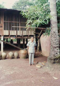 Pratchin Buri, Thailand  - Grandpa's house - January 1990