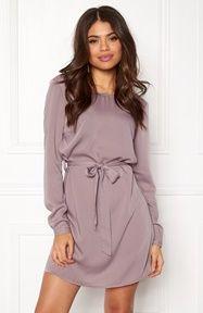 BUBBLEROOM Hortense dress Dusty lilac - Bubbleroom