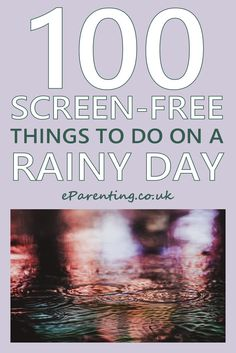Really good ideas in this 100 Screen-Free Things to Do on a Rainy Day Indoor Things To Do, Things To Do Inside, 100 Things To Do, Things To Do When Bored, Things To Do On A Rainy Day, Fun Things, Rainy Day Activities, Summer Activities For Kids, Activities To Do